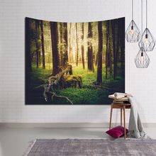 Картина Дерево настенный гобелен домашний Декор настенный гобелен пляжные полотенца коврик для йоги одеяло для пикника пледы ковер