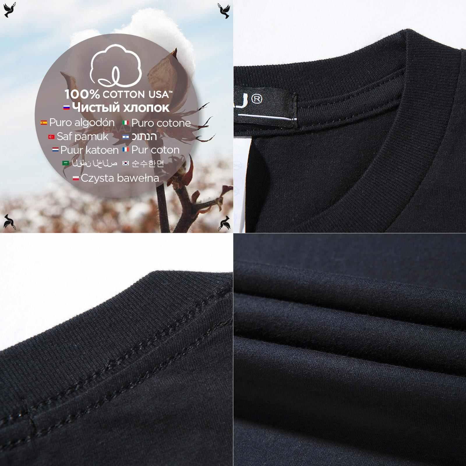 TShirt Mannen 100 Katoen USA XS 3XL Heren T-shirt Hip Hop T-shirt Voor Mode Zomer Streetwear Tee Shirt Top kleding 2019 Big Size