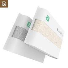 الأصلي Youpin ZSH القطن الألياف المضادة للبكتيريا منشفة ماصة المناشف 2 اللون 34*72 سنتيمتر لينة حمام الوجه منشفة اليد للأسرة H34