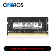Cmaos Memoria Ram ddr4 8gb 16gb notebook Laptop Memory Ram ddr4 2400 mhz  Memoria Motherboard Sodimm Sdram PC4 Ram for Inter AMD