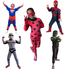 Avengers Iron Spiderman Costume Iron Man Hulk Flashman Costume Halloween Costumes Men Adult Kids Superman Cosplay Clothing(China)