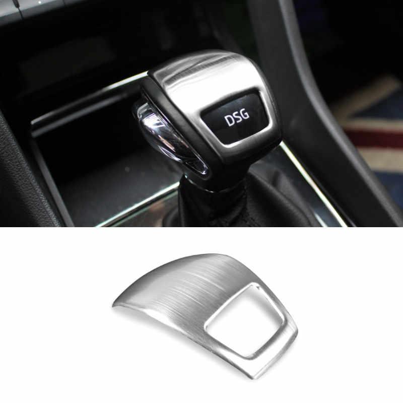 Hivotd untuk Skoda Kodiaq Aksesoris Mobil 2017-2020 Pusat Konsol Dekoratif Panel Penutup Stiker Auto Interior Cetakan