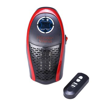 Remote Control 400W Mini Electric Air Heater Powerful Warm Blower Fast Heater Fan Stove For Home Office mini handy space heater portable wall convector stove hand air warm electric hot blower home fan office heater 1000w