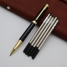 Роскошная металлическая шариковая ручка высококачественные ручки