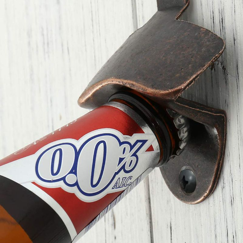 10Pcs Vintage Bottle Opener Wall Mounted Wine Beer Opener Tool Bar Drinking Accessories Home Party Supplies Kitchen Tools