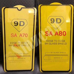 Image 4 - Sinzean 100 pièces 9D pleine colle verre trempé pour Samsung M10/M20/M30S/M40/M50/S10E/A750/S7 protecteur décran avec fond de panier 2.5D