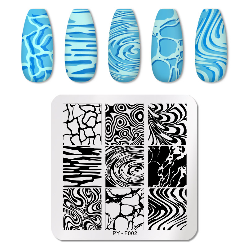 PICT YOU 12*6cm Nail Art Templates Stamping Plate Design Flower Animal Glass Temperature Lace Stamp Templates Plates Image 72