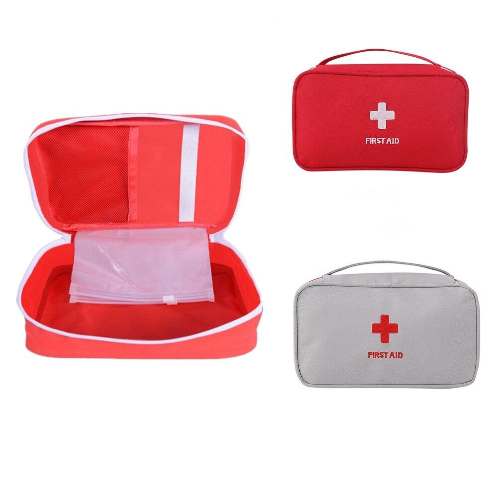 Saco de emergência acampamento ao ar livre kit primeiros socorros bolsa resgate saco vazio para househld kit sobrevivência viagem