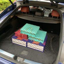 Red de malla para maletero de coche, bolsa de carga para Skoda Octavia Yeti Roomster Fabia Rapid Superb KODIAQ Citigo KAMIQ KAROQ SCALA VISION X