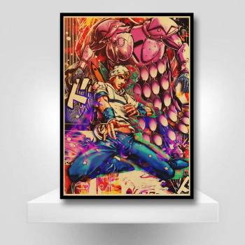 JoJo Anime Poster