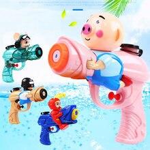 Été enfants eau jouet pistolet dessin animé eau gicleur pistolet tireur Blaster piscine jouet pour fête en plein air pistolet à eau tir jouet