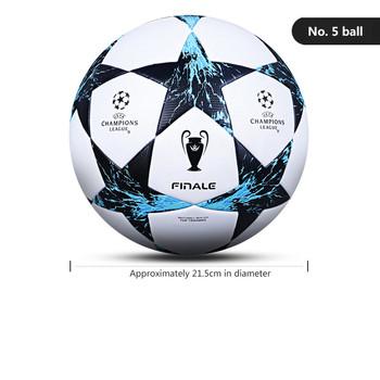 Szybsza rozrywka piłkarska nr 5 standardowy świat szkolenia ze skóry PU gra zewnętrzna i silniejsza piłka nożna dla dorosłych tanie i dobre opinie CN (pochodzenie) Poduszki poduszki
