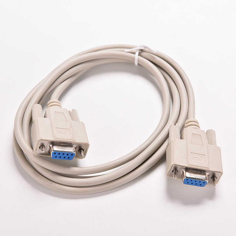 1 Pc 5ft F/F Seriële RS232 Null Modem Kabel Vrouwelijk Naar Vrouwelijke DB9 Fta Cross Verbinding 9 Pin com Datakabel Converter Pc Accessoire