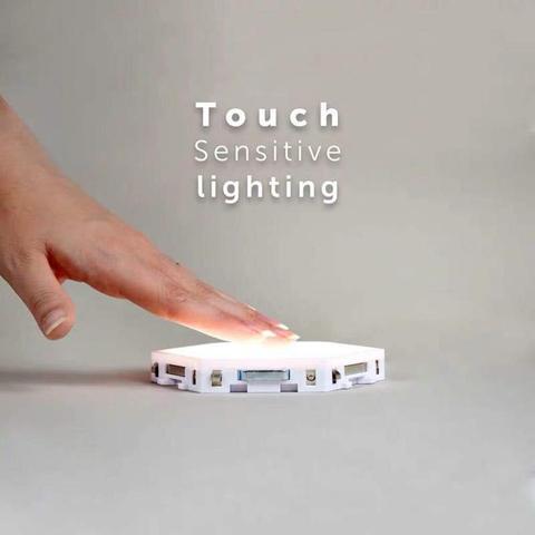 lampada de sensor noite lampadas de parede