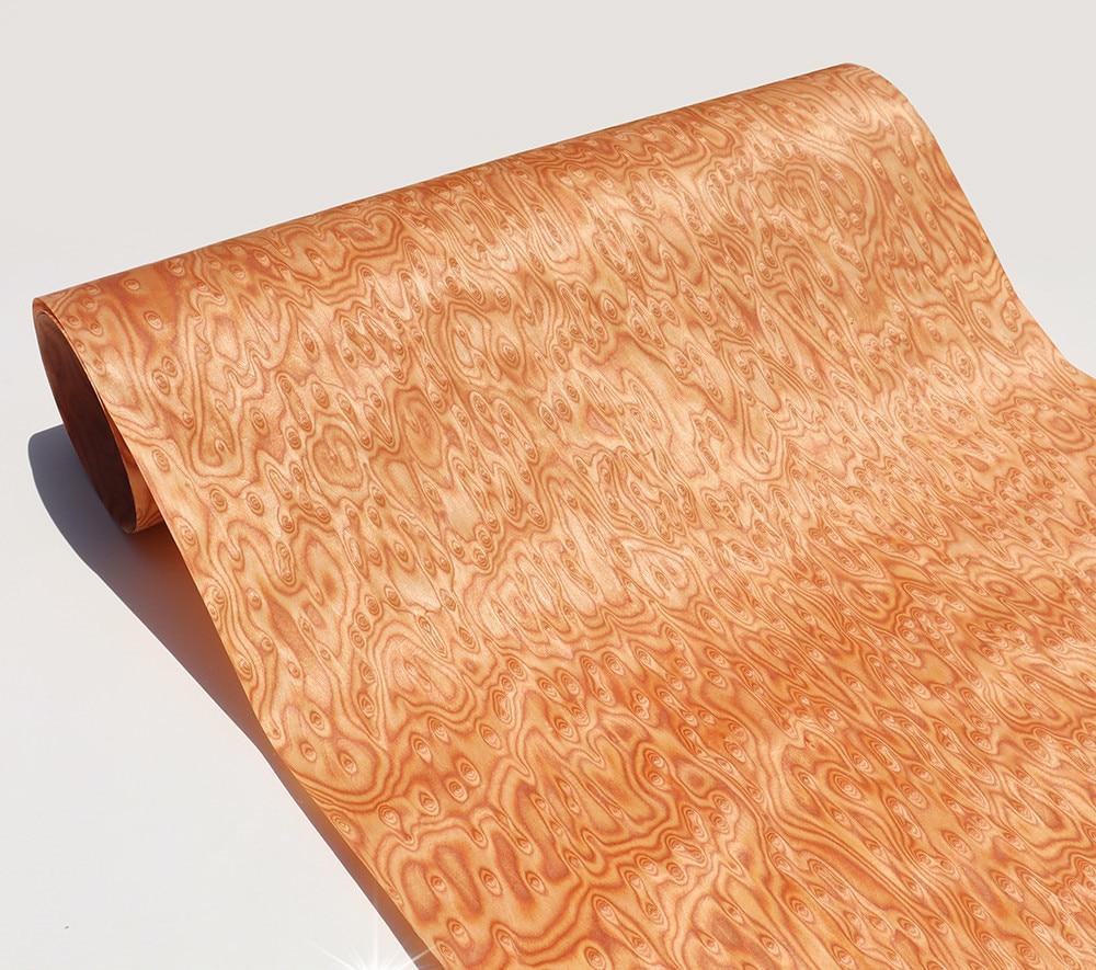 2xTechnical Veneer Sliced Wood Engineering Veneer E.V. Blister Variegated Burl Veneer Tissue Backing