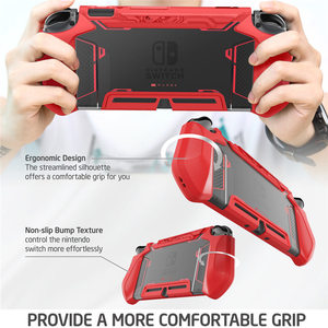 Image 5 - Dockable Case For Nintendo Switch Mumba Blade Series TPU Grip Cover Compatible with Nintendo Switch Console & Joy Con Controller