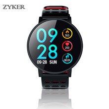 ZYKER Luxury Bluetooth Smart Watch Swimming Waterproof Heart Rate Blood Pressure Monitor With Fitness Tracker T3 Smartwatch New