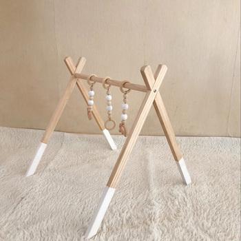 Dziecko aktywność siłownia drewniane siłownia dla dzieci z 3 drewniane dla dzieci gryzaki noworodka prezent składany wózek dla dziecka grać w siłowni rama aktywność siłownia tanie i dobre opinie Fessyc Drewna