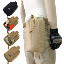 Molle Pouch Military-Hanging Tactical Belt-Pack Waist-Bag Hunting-Gear Army Fishing Outdoor