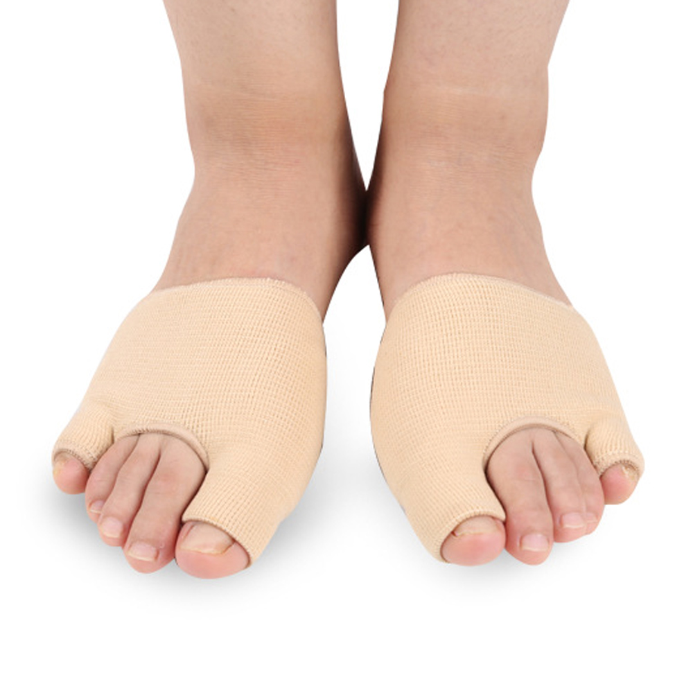 2pcs Hallux Valgus Bone Thumb Orthotics Braces To Correct Daily Silicone Foot Big Toe Separator Pedicure Foot Care Z28801