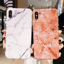 Marble Phone Case For iphone X XS Max case Leaves Soft TPU Silicon Cover For iphone XS XR iphone 8 7 6 6S Plus Case Fundas Capa цена и фото