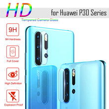 Camera Len Film for Huawei P30 Pro P Smart Plus 2019 Screen Protector Full Cover Protective Tempered Glass for Huawei P20 Lite(China)