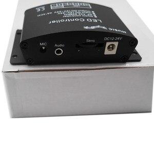 Image 2 - 24 คีย์ RGB/RGBW เพลง LED Controller DC12V 24V RF ระยะไกล SENSOR เสียงเสียงสำหรับ RGB RGBW LED strip LIGHT