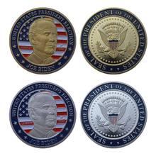 2020 nova bandeira nacional joe biden presidente lembrança moedas colecionáveis