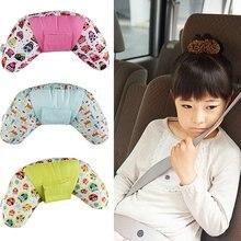 Protective-Pillow Seat-Belt Nap Children