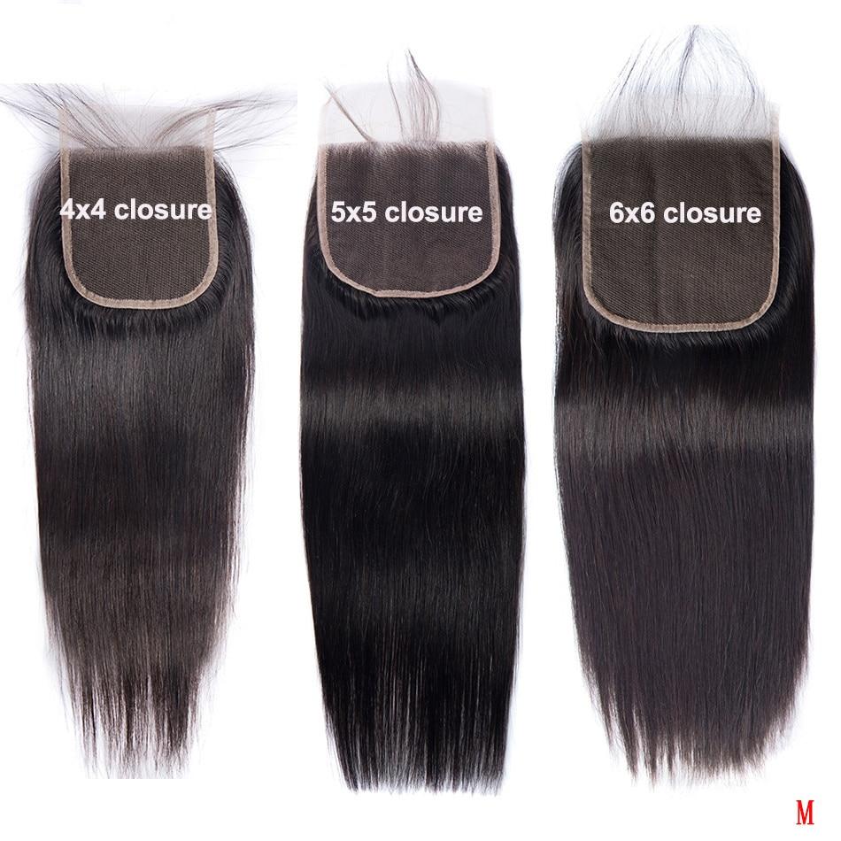 Cierre de encaje para cabello humano, accesorio de cabello humano Remy 100% 2x6 peruano liso 613 con cierre Frontal prearrancado de 18, 20 pulgadas, 6x6, 5x5, 4x4