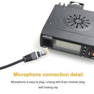 Image 5 - Baojie BJ 218 Walkie Talkie 25W 136 174MHz & 400 470MHz Dual Display MINI Mobile Radio Ham Radio for Car Bus Taxi Two Way Radio