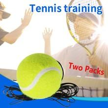 Single tenisówka trening piłka podstawa tylna trener tenis tenis Heavy Duty trening tenis tenis + lina 31 tanie tanio ISHOWTIENDA Pojedynczy pakiet Piłka treningowa