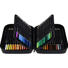 Colored Pencils Set 72/120 Colors with Zipper Case Professional Drawing Art Supplies for School Draw Sketch Art Supplies