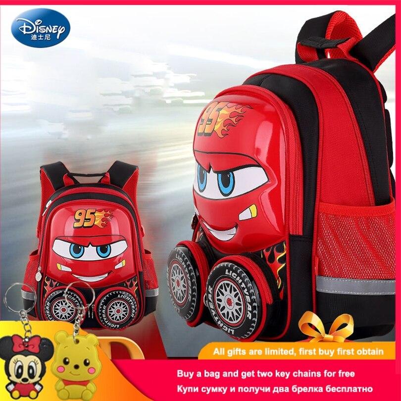 Disney 2019 Cars Children Backpack High Quality School Bag for Boys Girls Cartoon Schoolbag Ultralight Kids Satchel Preschool