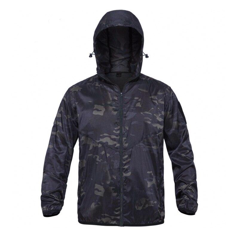 2019 New Anti-UV Multicam Black Jakcet MCBK Summer Jacket  100% Polyster Tactical Skin Jacket  / Tactical Anti-UV Jacket