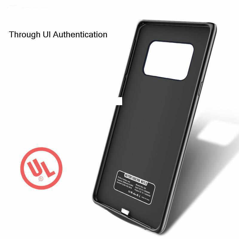 SeenDa 5500mah caixa de Bateria para Samsung Nota 8 S8 mais À Prova de Choque De Carga De Backup Caso para Samsung S8 S9 Plus nota Banco de Potência 9