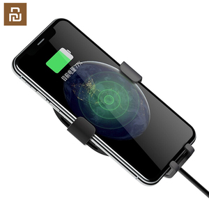 Image 3 -  Qi Wireless Car Charger For iPhone Xs Max XR X Samsung Intelligent Sensor Fast Wireless Char ger Holder in Car