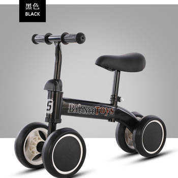Baby Balance Bike No Pedals Tricycle Riding Toys Baby Learning Walker Kids Bicycle Balance Scooter No Handbrake ride on tricycle kids balance bike portable baby bicycle stroller tricycle scooter learning walk with pedals