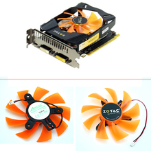 GA92S2M 85mm  PC Cooling fan For ZOTAC GTX 750 Ti GTX750 GTX 1050Ti-4GD5 PA Graphics Video Card Fan 2Wire 2Pin original zotac video card geforce gtx 750 ti 1gb 128bit gddr5 1gd5 graphics cards for nvidia 1050 gtx750 ti 1gd5 hdmi dvi vga