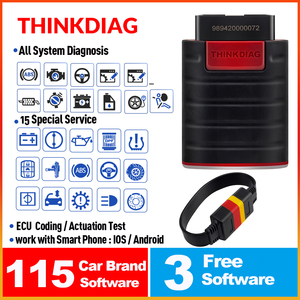 ThinkCar ThinkDiag obd2 obdii code reader all system diagnostic tool 15 reset Think Diag scanner pk X431 easydiag 3.0 ap200 golo(China)