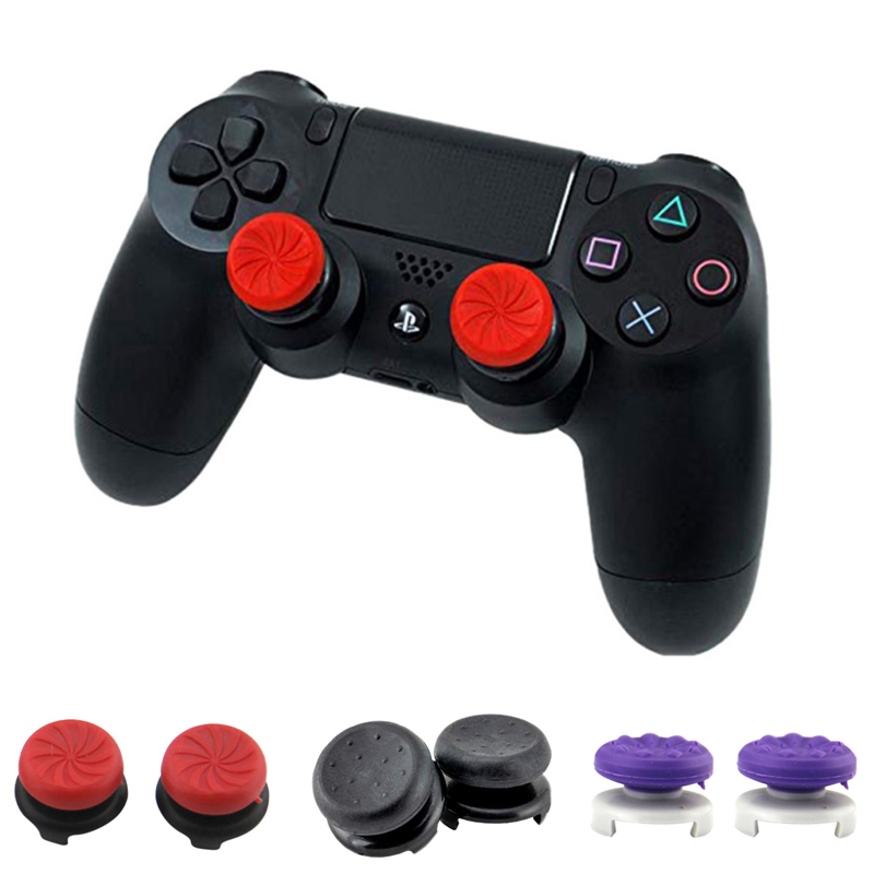 For PS4 CQC FPS Analog Grip Extended Thumbstick Thumb Sticks Grips High Joystick Caps For Dualshock 4 PS4 Pro Slim Controller