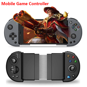Newest Wireless Mobile Controller Gamepad, PUBG Mobile Game Controller With Triggers For Android IOS 3.5-6.5 Inch Smart Phone
