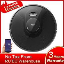 ABIR X8 Vacuum Cleaner Robot,Laser System, Multiple Floors Maps, Zone Cleaning, Restricted Area Setting for Home Carpet Washing