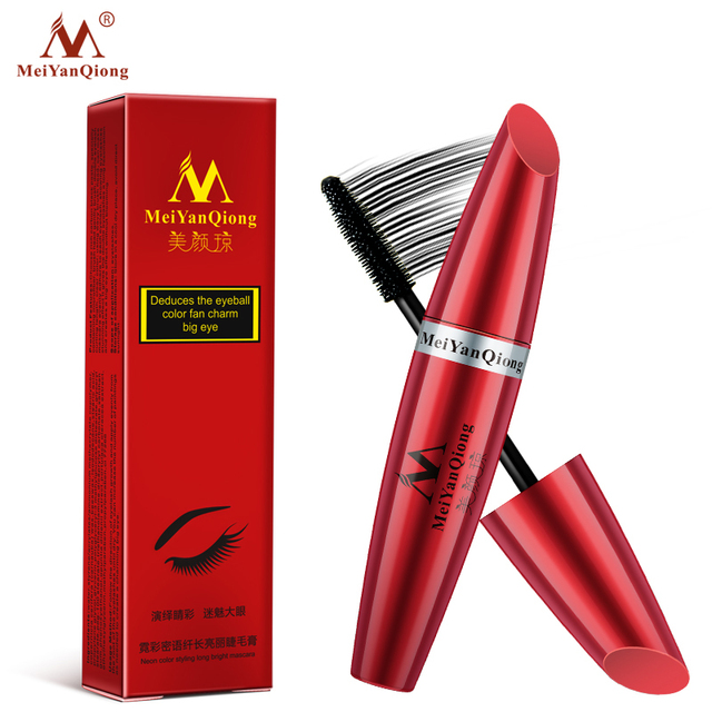 Makeup Eye Mascara Lengthening Nutritious Moisturizing Easy to Dry Natural Curling Thick Waterproof Sweat-proof Eyelash Care 5
