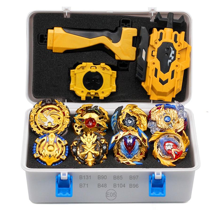Gold Takara Tomy Beyblade Burst Launcher Bayblade Burst Arean Set Box Blade Toys Child Metal Fusion Bey Blades Bables New Gift