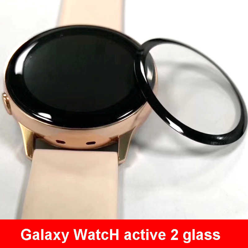 Galaxy Watch Active 2 szkło do Samsung Gear S3 Frontier 44mm 40mm/46mm/42mm S2/Sport 3D HD folia ochronna na cały ekran Active2