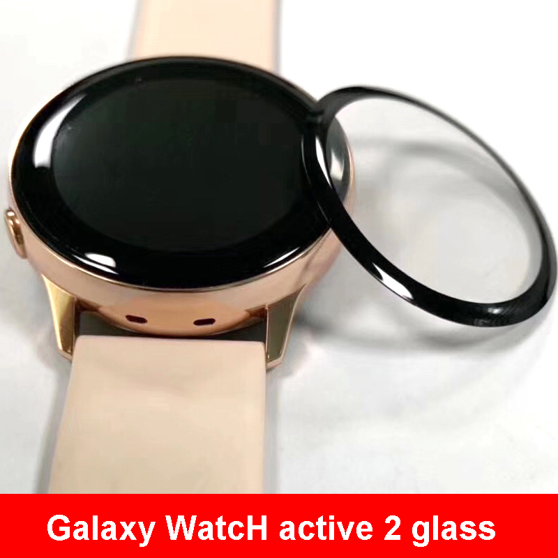 Galaxy Watch Active 2 Strap For Samsung Gear S3 Frontier 44mm 40mm/46mm/42mm HD Full Screen Protector Film Glass Active2 Strap