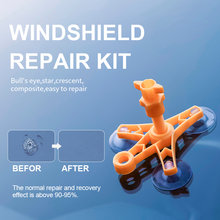 Набор для ремонта автомобильного стекла полимер удаления царапин
