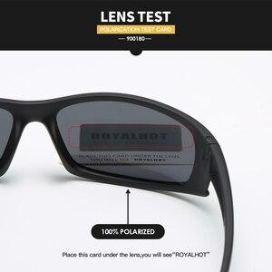 Image 4 - Royalhot men feminino polarizado acolhedor esportes óculos de sol vintage retro óculos de sol máscaras oculos masculino 900180