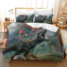 Dinosaur Jurassic World 3d Bedding Set Duvet Covers Pillowcases Comforter Sets Bedclothes Bed Linen